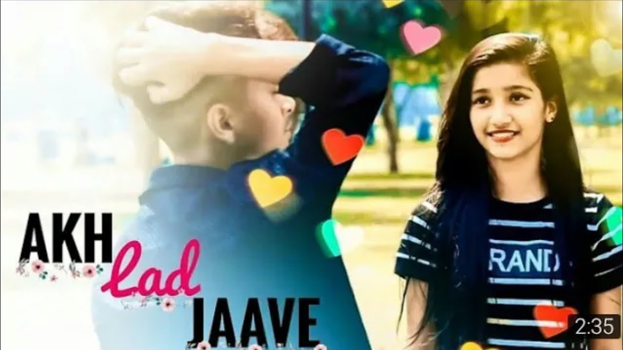 Akh Lad Jaave With Lyrics | Loveyatri | Aayush S | Warina H | Badshah | Xmarty Editing