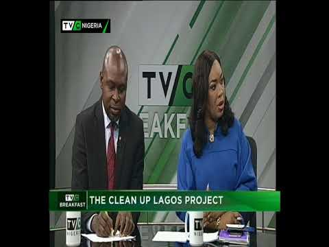 TVC Breakfast 23rd January 2018 | Cleaner Lagos Initiative