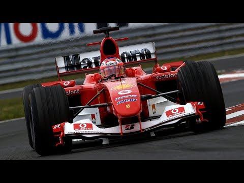 FERRARI F2004 V10 Dominando em Monza (Gp da Itália) | Assetto Corsa G29/920