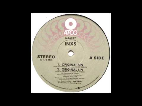 Original Sin Dream On Dance Version  INXS