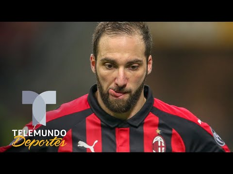 Nadie quiere fichar a Gonzalo Higuaín | Italia Serie A | Telemundo Deportes