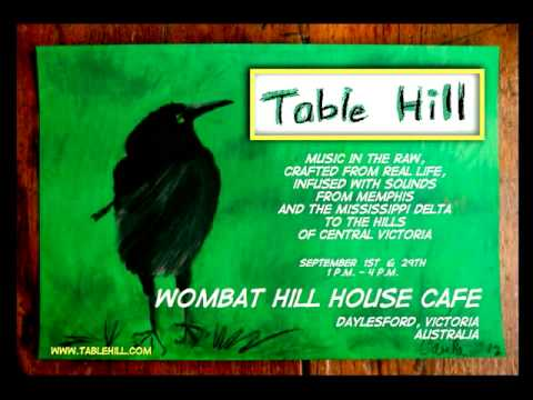 Table Hill at the Wombat Hill House Cafe, September 2012