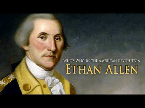 AF-182: Who's Who in the American Revolution: Ethan Allen