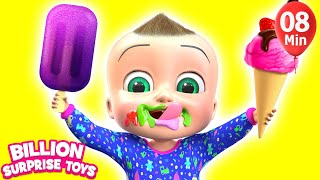 Ice Cream Fantasy Land  | + More Kids Songs | Billion Surprise Toys