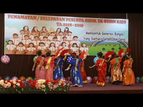 TARI KIPAS PAKARENA By Anak Didik TK. B Oshin Kids Makassar