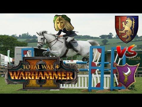 UNCHIVALROUS EDGELORDS | Bretonnia vs Dark Elves : Mortal Empires - Total War Warhammer 2