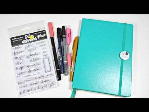 Bullet Journal #1 | Materiales que voy a utilizar