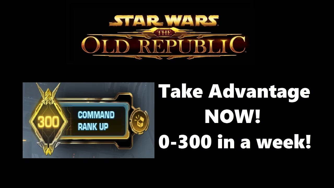 Swtor Command Xp Boost