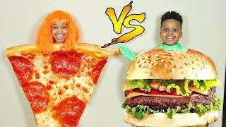 PIZZA OR BURGERS? - Onyx Kids