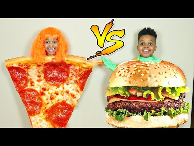 PIZZA OR BURGERS? - Onyx Kids