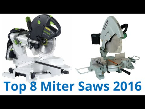 8 Best Miter Saws 2016