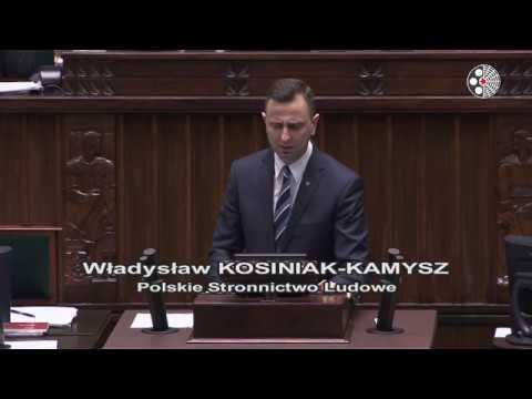 Władysław Kosiniak Kamysz – wystąpienie z 7 lutego 2018 r.