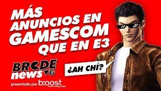 Más anuncios en GAMESCOM que en E3