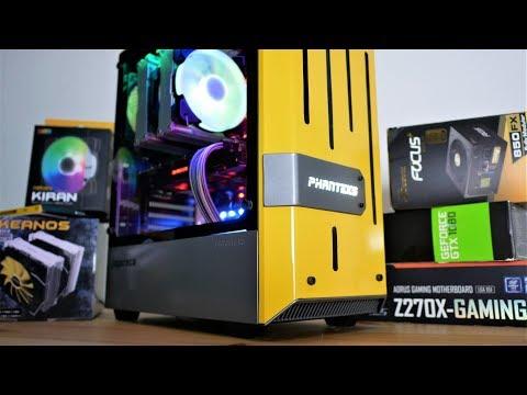 Phanteks Eclipse P300 case mod