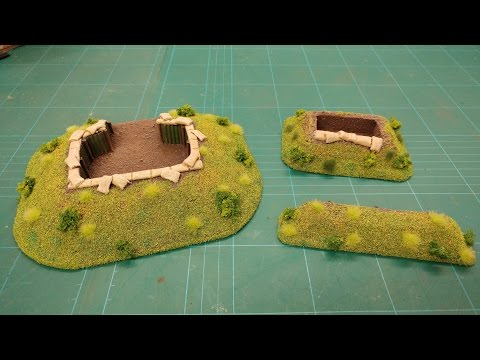Let's Make - Trenches, Emplacements & Breastworks (Battlefield Basics Series)