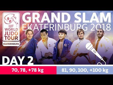 Grand-Slam Ekaterinburg 2018: Day 2