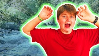 HE FELL OUT OF THE TUBE! | GREEN RIVER TUBING