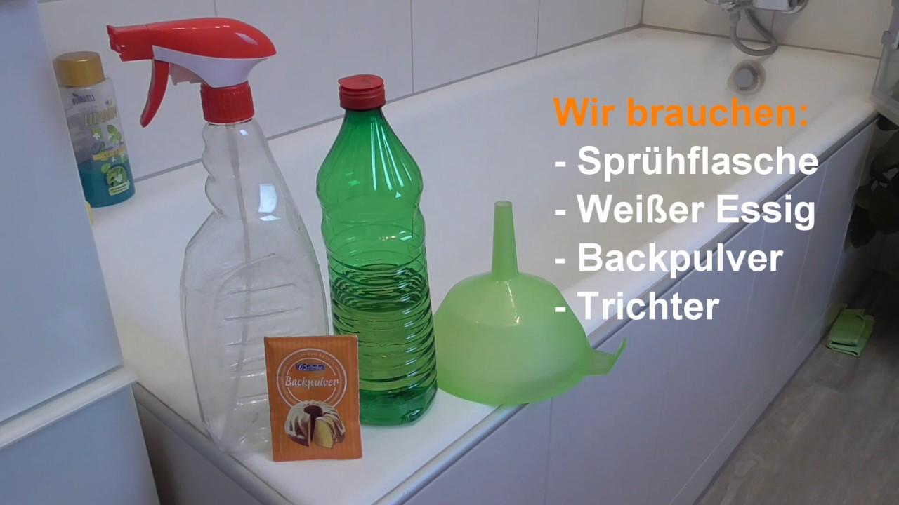 Badezimmer Putztrick Bad Und Dusche Muhelos Reinigen Lifehack Bad Putzen Youtube