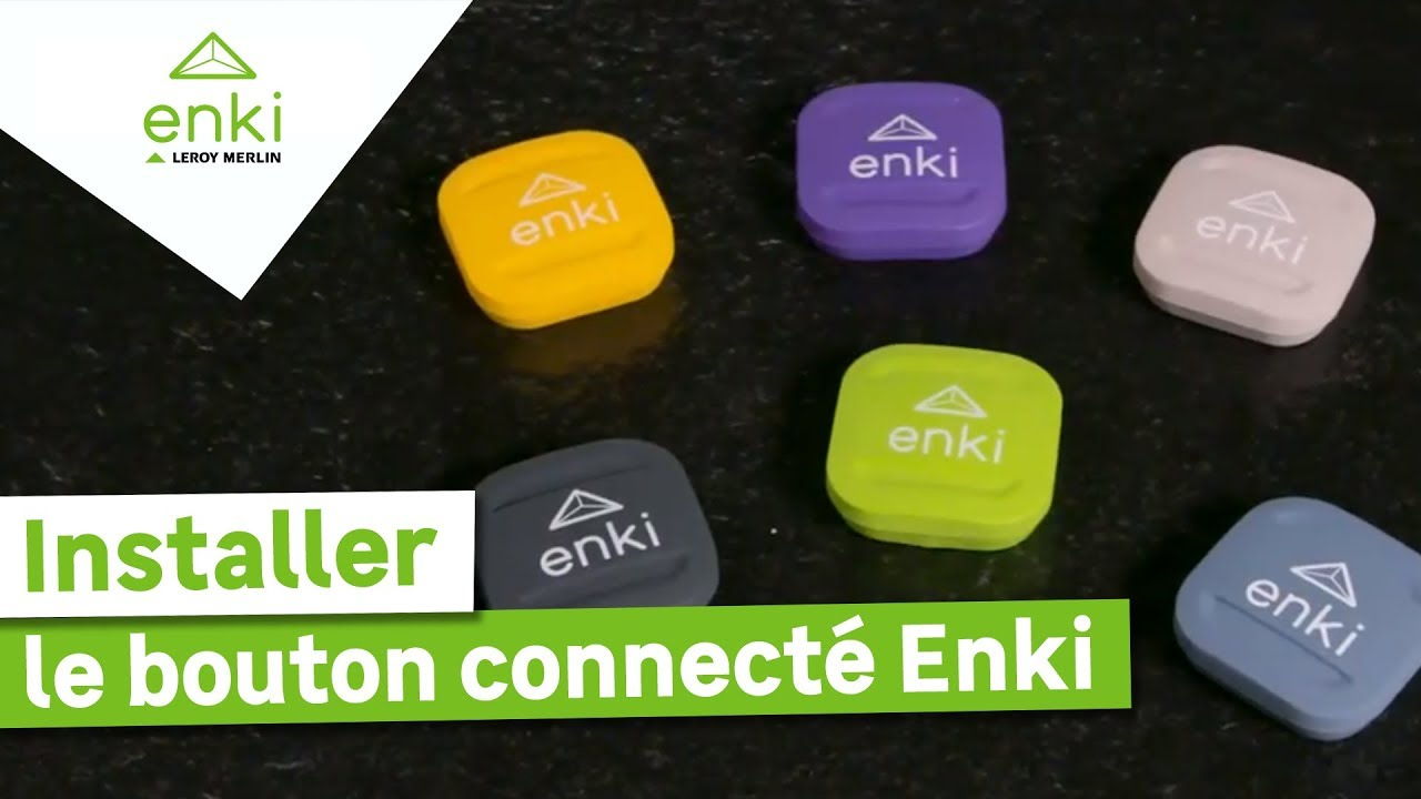 Download Comment installer et utiliser le bouton connecté Enki ? Leroy Merlin
