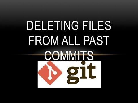 git delete commits