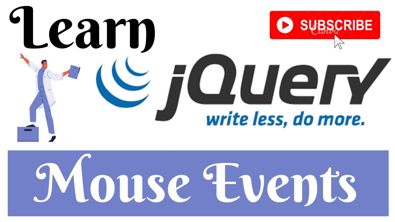 jQuery Lecture - 5 Mouse Events Tutorial in Hindi / Urdu