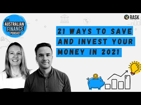 21 ways to save and invest your money in 2021