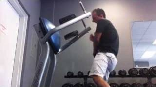 Worlds worst workout fail ever  Biggest loser in gym  Stunt dog extrodinaire