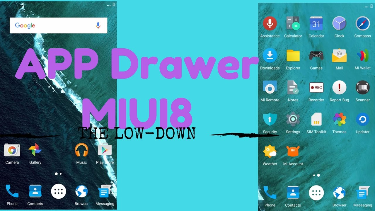 How to add APP DRAWER to Redmi Note 3/4 or any Xiaomi device running MIUI  !!!