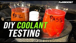 How to test and choose engine coolant / antifreeze | fullBOOST