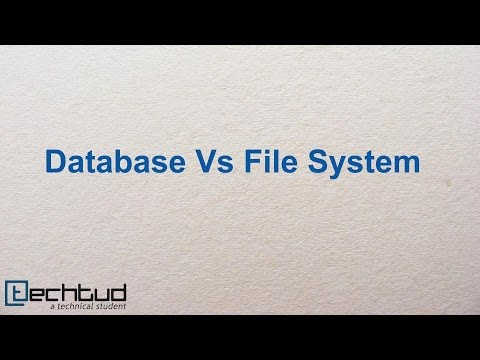Database vs Filesystem | Database Management System