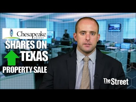 Chesapeake Energy Shares Climb on Barnett Shale Divestiture