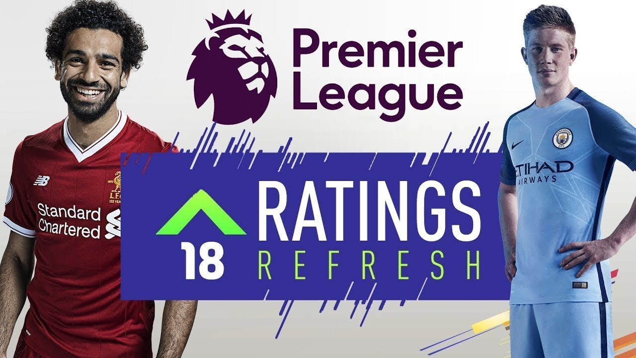 premier league refresh ratings fifa 18 winter upgrades. Black Bedroom Furniture Sets. Home Design Ideas