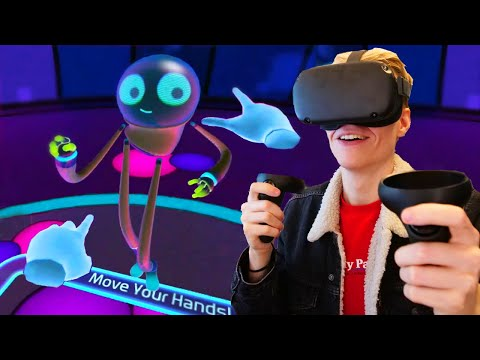 Introduction to Oculus Quest! First Steps Experience