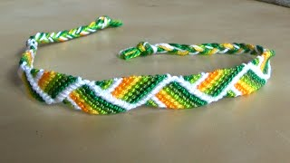 [TUTO]  Easy Friendship Bracelet  (Beginner) - Ears of grain