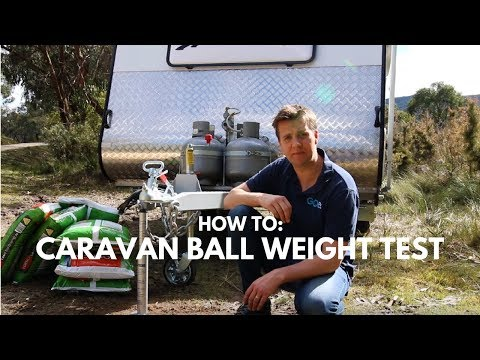 HOW TO: Caravan Ball Weight Test