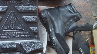 Bundesmarine, Baltes Bordschuhuhe, winter boots(Контрактные зимние ботинки Бундесмарине Baltes Bordschuhe Winter LFZ, Германия Модификация с шнурками. Утеплитель..., 2015-03-05T19:25:07.000Z)