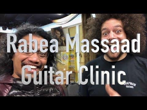 Chapman Guitars - Rabea Massaad Clinic at Alvas Music San Pedro, CA