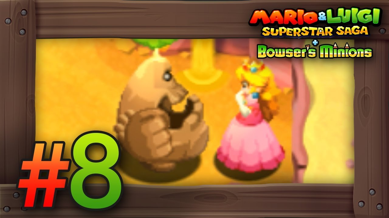 Mario Luigi Superstar Saga Bowser S Minions Walkthrough Part 8 Teehee Valley 3ds Gameplay