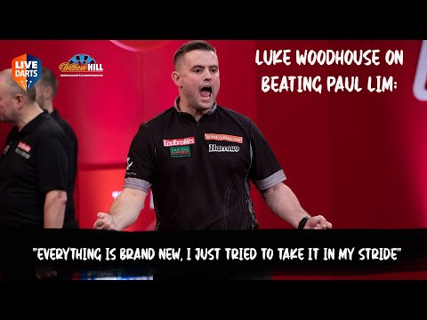 "Luke Woodhouse on beating Paul Lim: ""Everything is brand new, I just tried to take it in my stride"""
