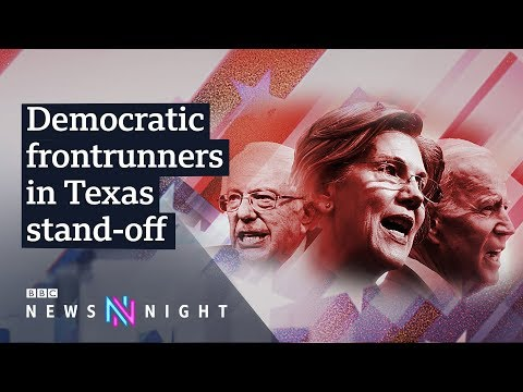 US election 2020: Can any Democratic frontrunner beat Trump?  - BBC Newsnight