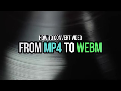 How to convert your video from MP4 to WebM with VSDC Free Video Editor