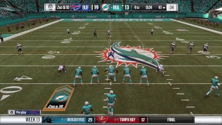 Season 13 - Week 13: Buffalo Bills vs Miami Dolphins