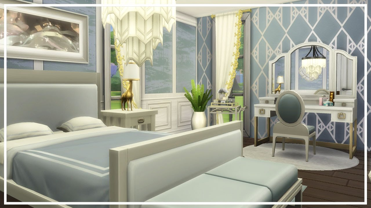 PRINCESS GLAM BEDROOM The Sims 4