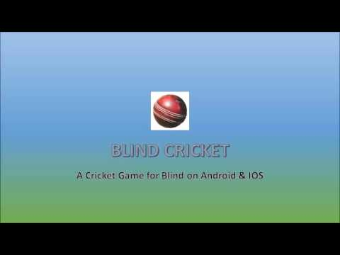 How To Play Blind Cricket: Demonstration And Tutorial Of Blind Cricket Game On IOS In English