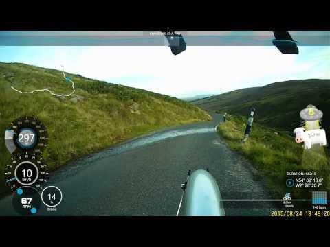 Lythe Fell Road - Telemetry version