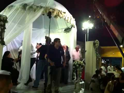 Rocket at a wedding in Israel YouTube