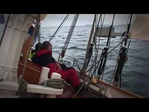 Pilot Cutter Amelie Rose Maiden voyage