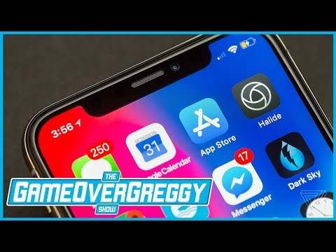 Is The iPhone X Innovation? - The GameOverGreggy Show Ep. 211 (Pt. 1)