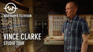 Vince Clarke studio tour - Waveshaper TV - IDOW archive series