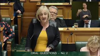 Question 2 - Hon Amy Adams to the on Behalf of Minister of Finance thumbnail